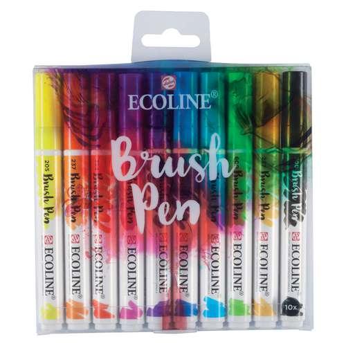 Talens Ecoline Brush Pen Marker Sets