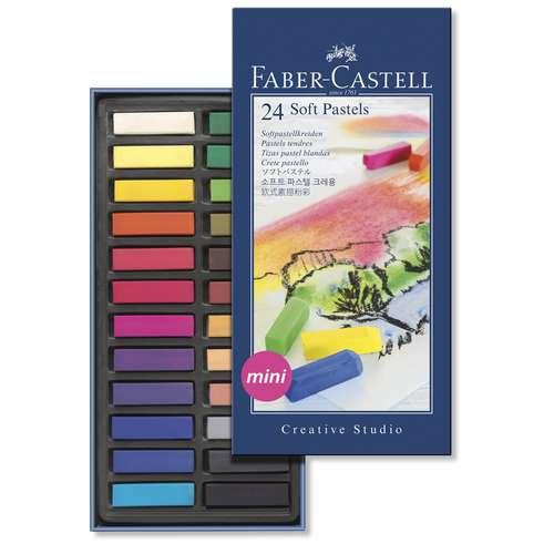 Faber-Castell Soft Half-Pastel Sets