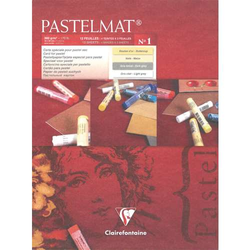 Clairefontaine Coloured Pastelmat Pad No. 1