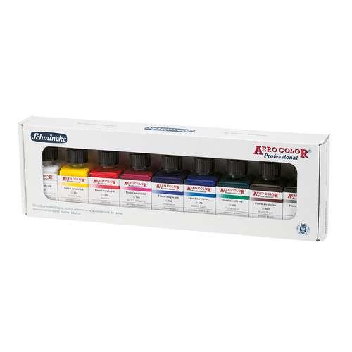 Schmincke Aero Color Professional Primary Colour Set