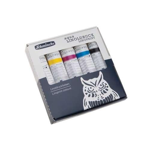 Schmincke Aqua Linoprint Colour Set