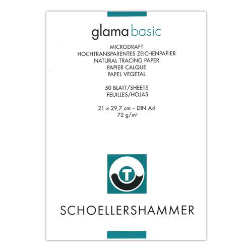 Schoellershammer Glama Microdraft Natural Tracing Paper Pads