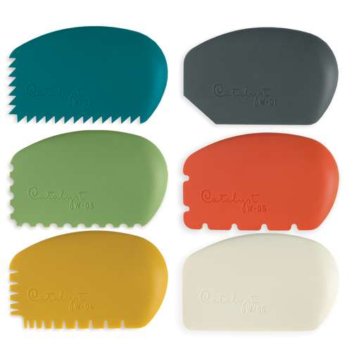 Catalyst Silicone Spatula Wedges