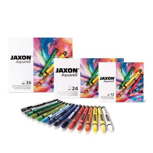 Jaxon Watercolour Round Wax Pastel Sets