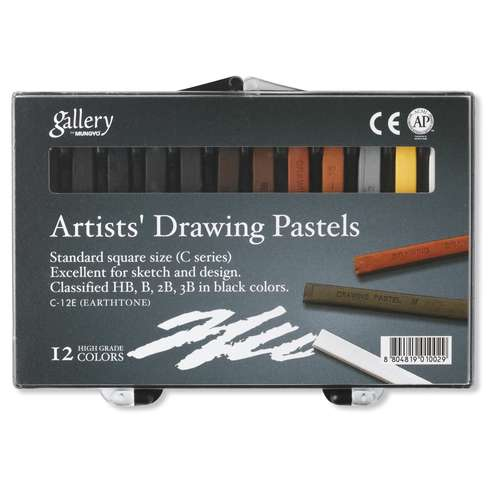 Gallery Standard Artists Drawing Pastel Set