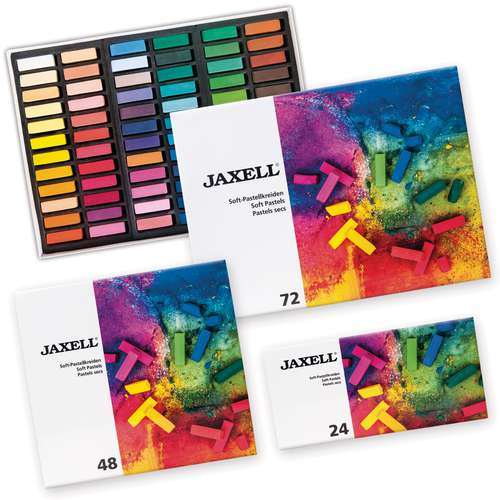 Jaxell Soft Pastels Half Pastel Sets