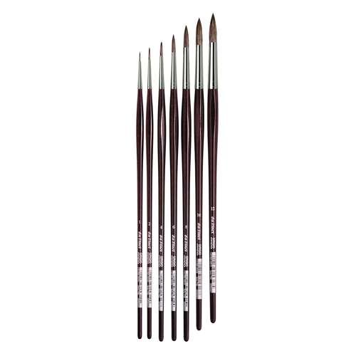 Da Vinci Grigio Series 7795 Round Synthetic Brushes