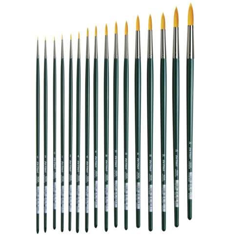 Da Vinci Nova Round Oil Brushes Series 1670