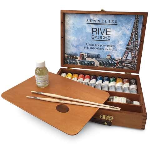 Sennelier Rive Gauche Fine Oil Set