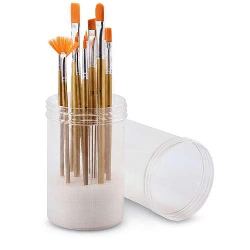 Acrylic Brush Set of 12 Brushes