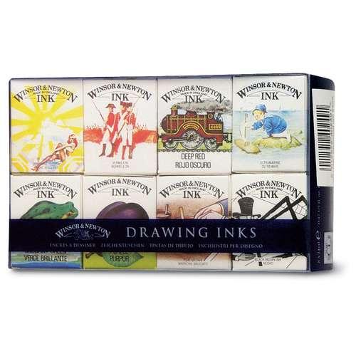 Winsor & Newton 'William' Drawing Inks Set