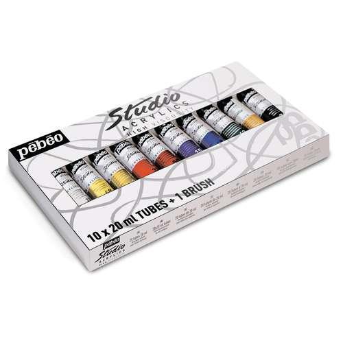Pébéo Studio Acrylic Paint Sets
