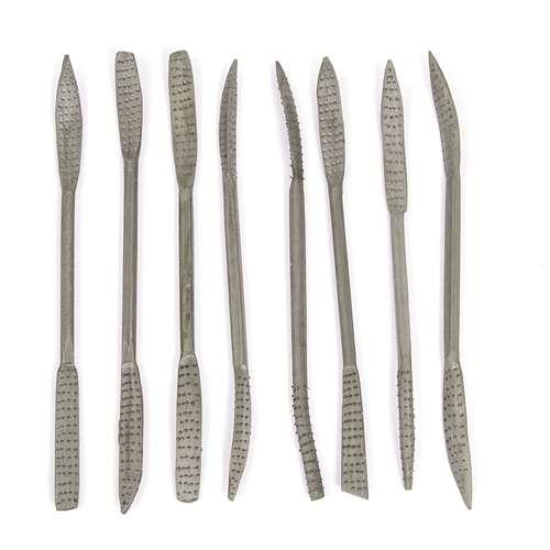 Set Of 8 20cm Rifflers