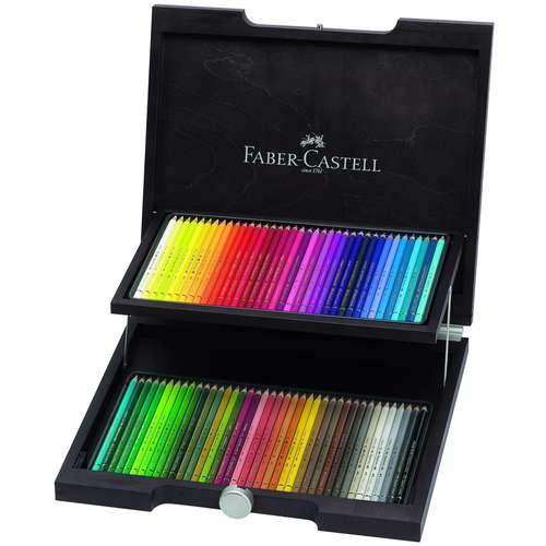 Faber-Castell Polychromos Artists' Colour Pencils Wooden Box Set