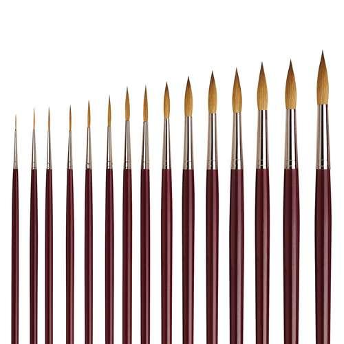 Da Vinci Series 1210 Rigger Brushes