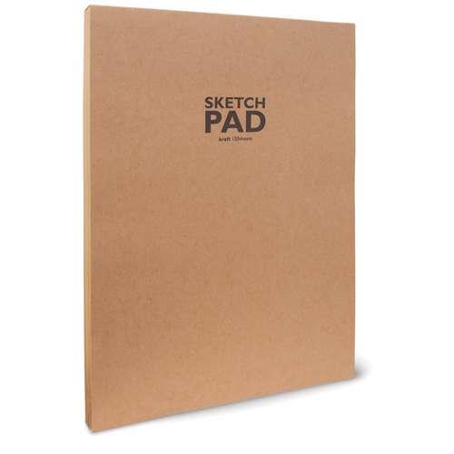 Rustic Kraft Glued Sketch Pads