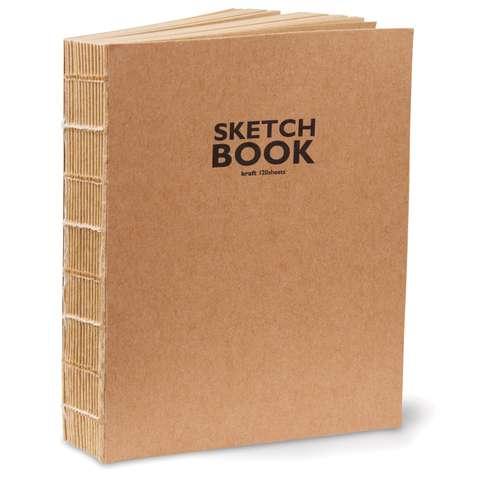 Rustic Kraft Bound Sketchbooks