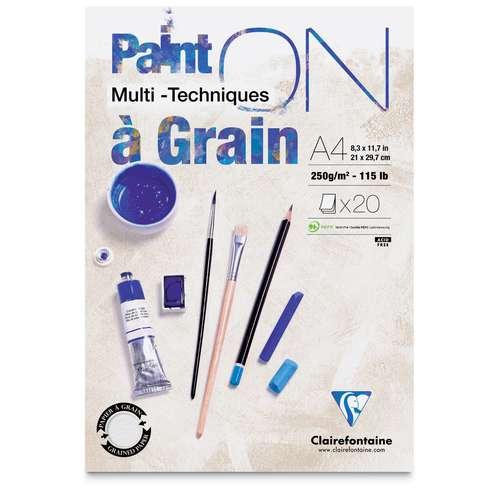 Clairefontaine Paint On Multi-Technique Paper