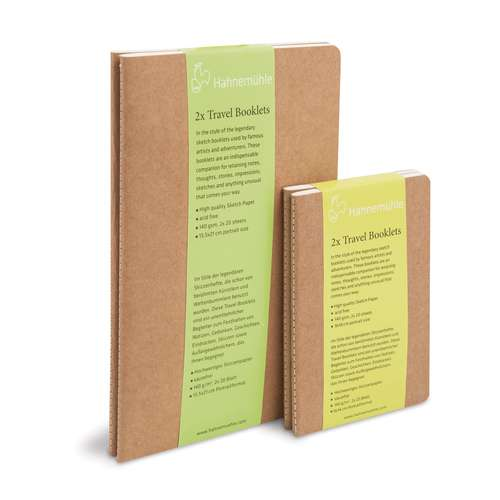 Pack Of 2 Hahnemuehle Travel Booklets