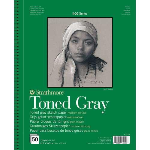 Strathmore 400 Toned Grey Sketchbooks