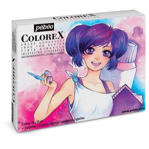 Pébéo Colorex Manga Set