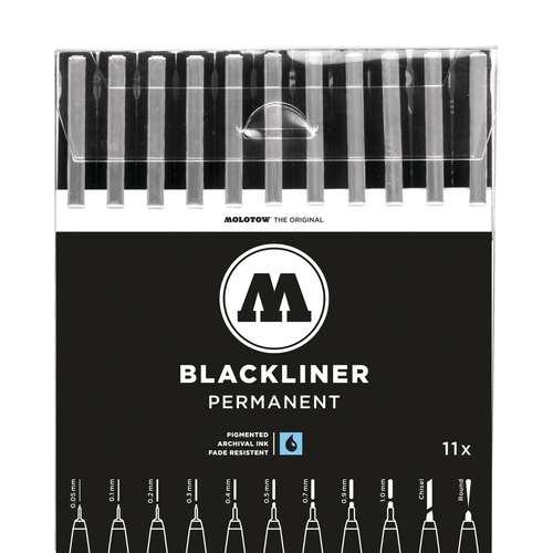 Molotow Basic Blackliner Complete Pen Set
