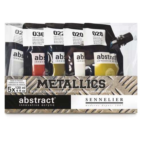 Sennelier Abstract Acrylic Metallic Set