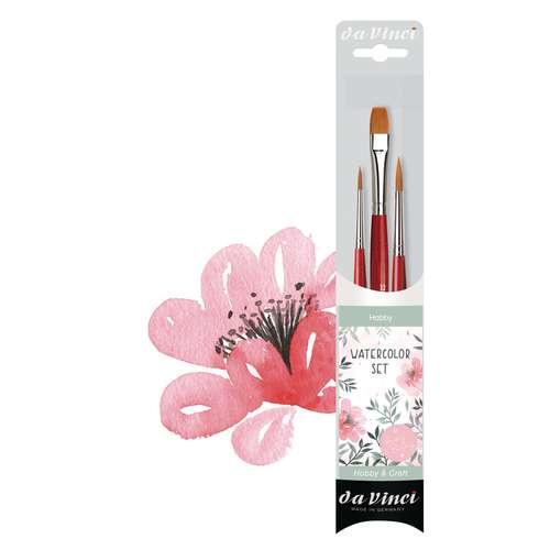 Da Vinci brush Series 5389 Set for Watercolour