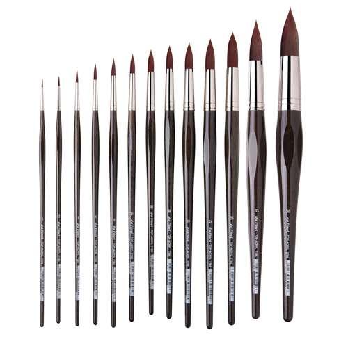 Da Vinci TOP-Acryl Round Brushes Series 7785