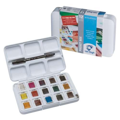 Van Gogh Pocket Watercolour Box