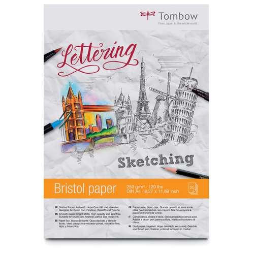 Tombow Lettering Bristol Paper Pad