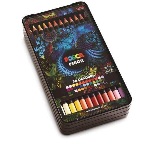 Posca Coloured Pencil Set
