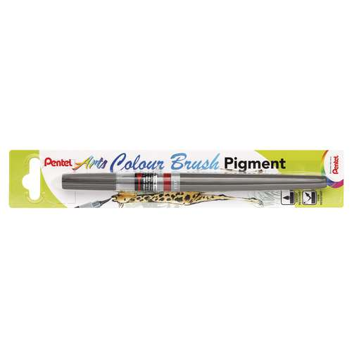 Pentel Colour Brush Pigment Pens