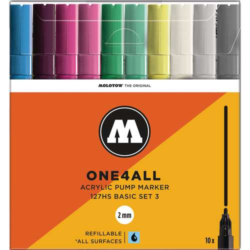 Molotow One4All 127HS Marker Pen Sets