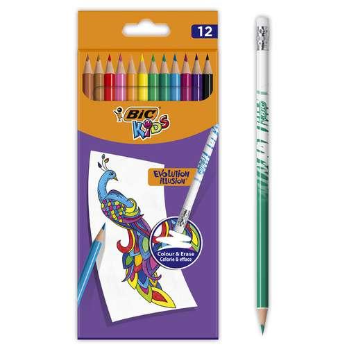 Bic Kids Evolution Illusion Coloured Pencil Sets