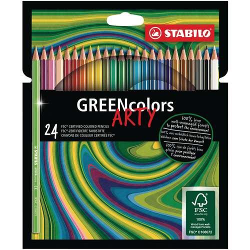 Stabilo Greencolors Arty Coloured Pencil Sets