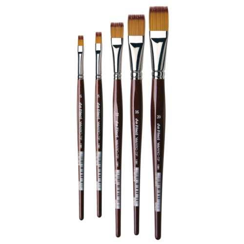 Da Vinci Series 1381 Vario-Tip Flat Brushes