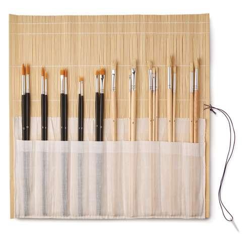 Bamboo Mat 20 Brush Set