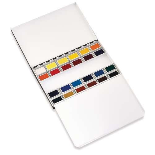 Blockx 24 Pan Watercolour Set