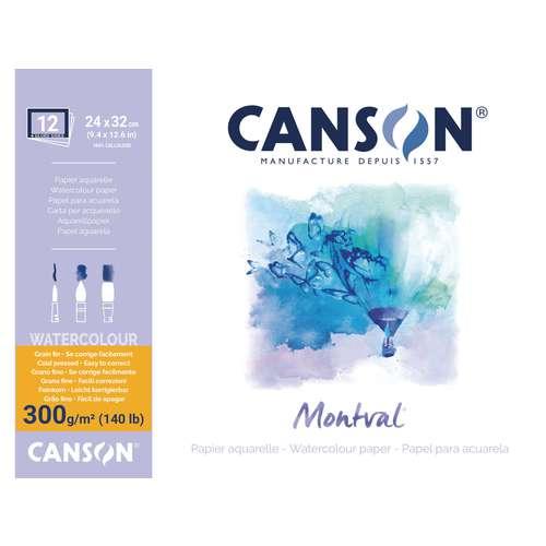 Canson Montval Fine Grain Watercolour Paper