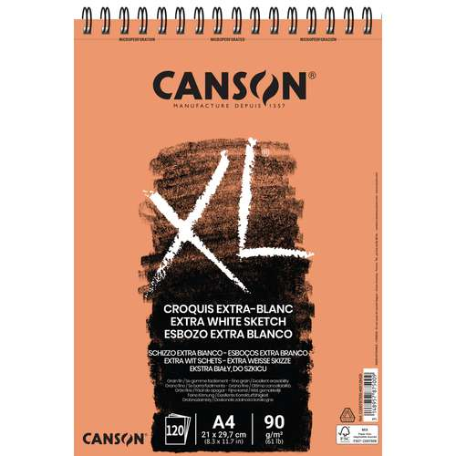 Canson XL Extra Blanc Pads