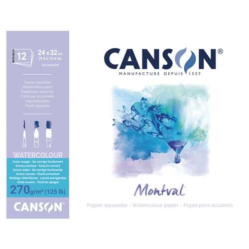 Canson Montval Rough Watercolour Paper Pads