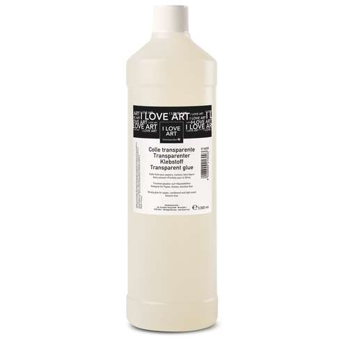 I Love Art Transparent Glue
