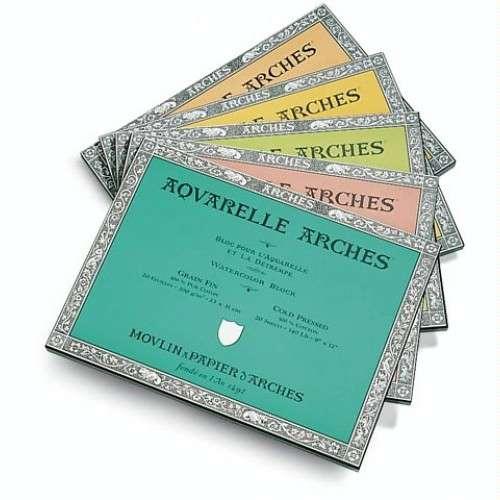Arches Aquarelle Watercolour Paper Block 185gsm