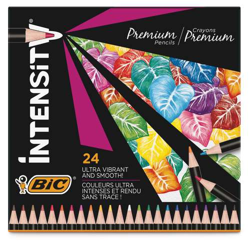 BIC Intensity Premium Coloured Pencil Sets