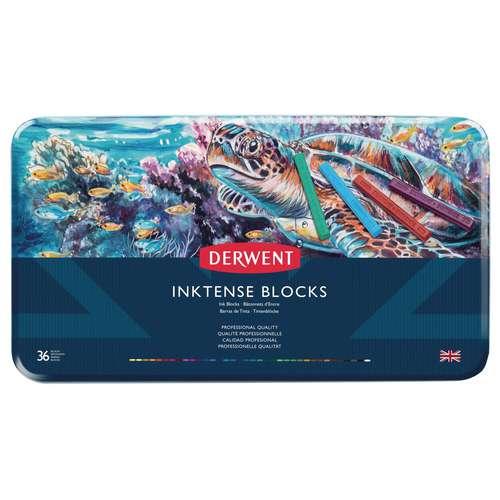 Derwent Inktense Block Large Sets